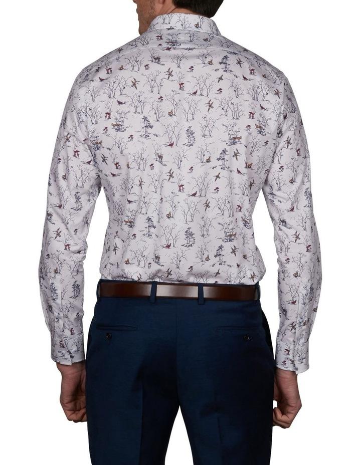 Oasis Slim Print Business Shirt image 2