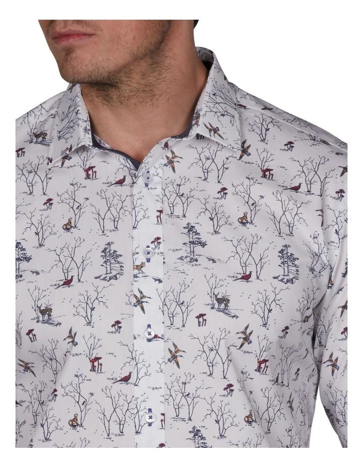 Oasis Slim Print Business Shirt image 3