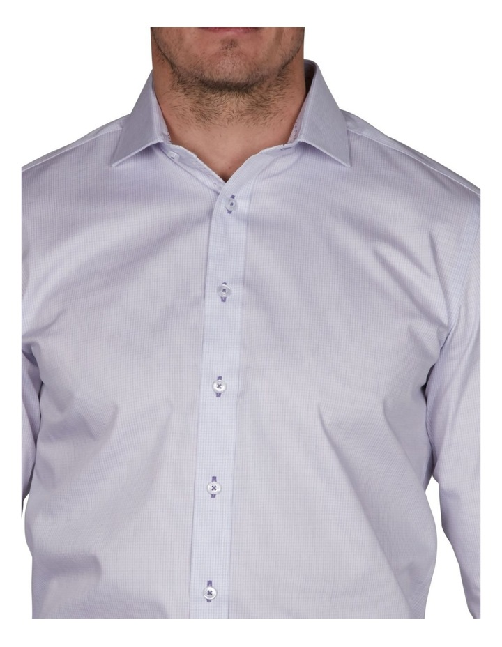 Caister Slim Check Business Shirt image 3