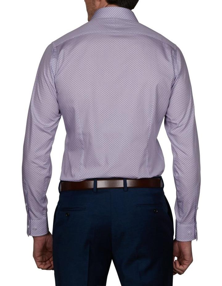 Milford Extra Slim Print Business Shirt image 2