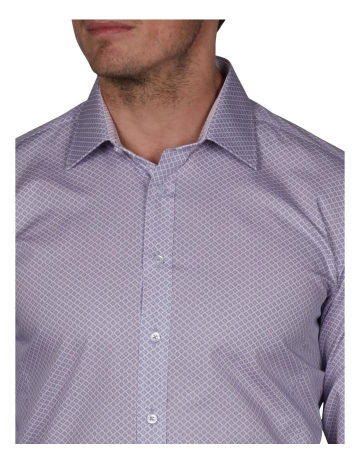Milford Extra Slim Print Business Shirt image 3
