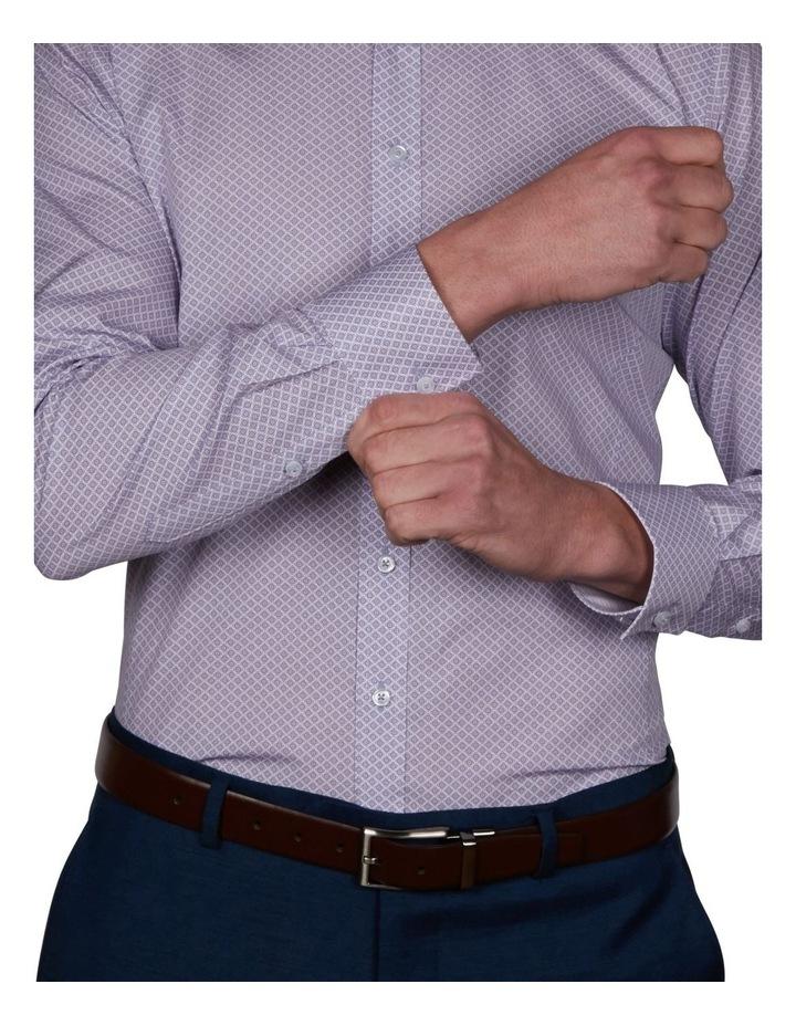 Milford Extra Slim Print Business Shirt image 4