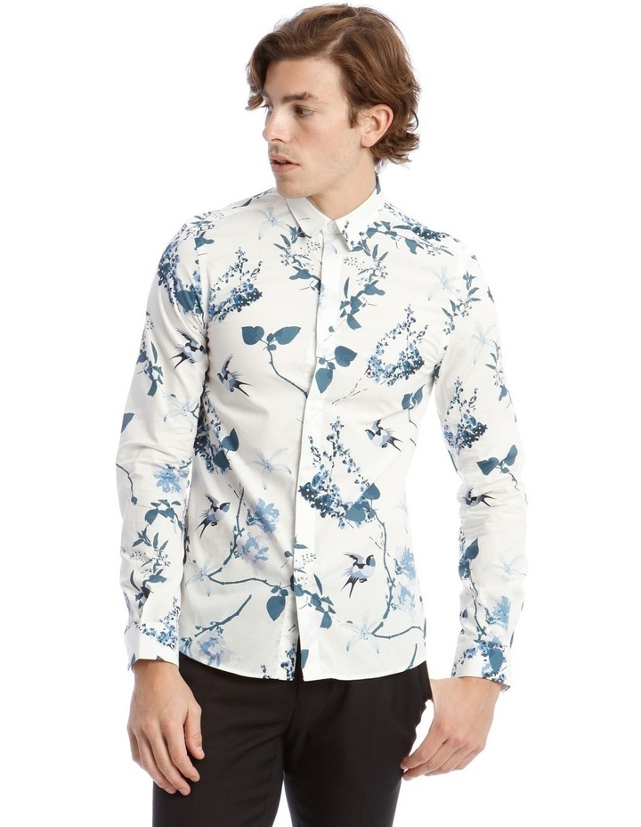 Pom Business Shirt in White image 1