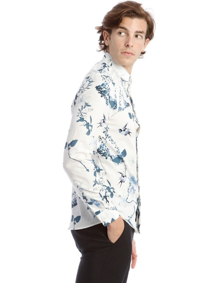Pom Business Shirt in White image 2