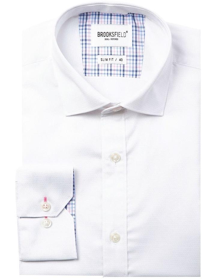 Career Abstract Diamond Weave Business Shirt image 4