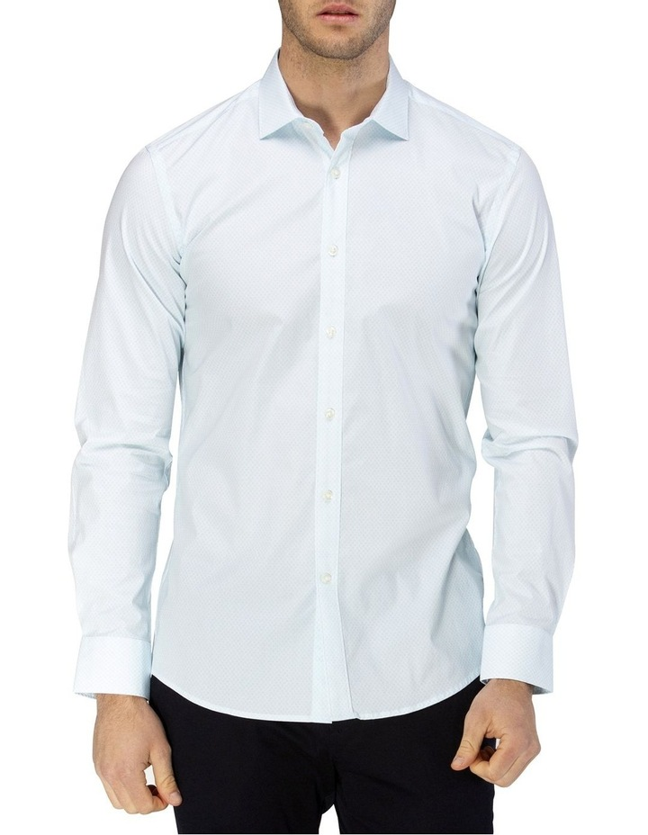 Career Fine Diamond Print Business Shirt image 1