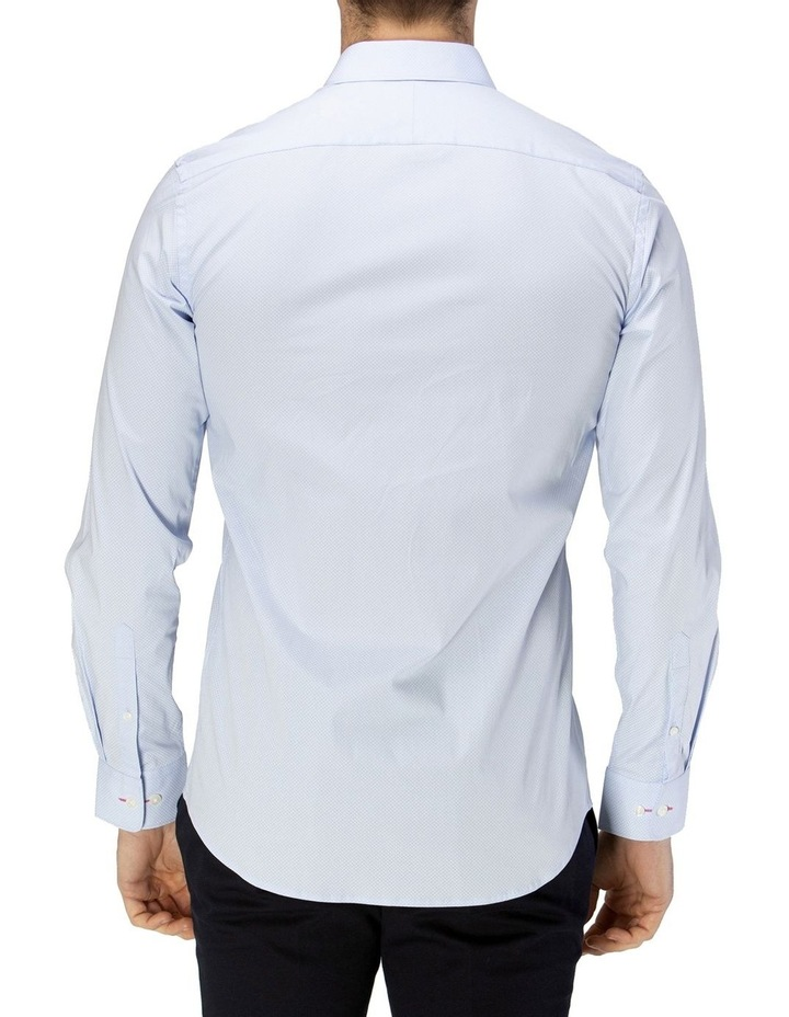 Career Micro Square Print Business Shirt image 3