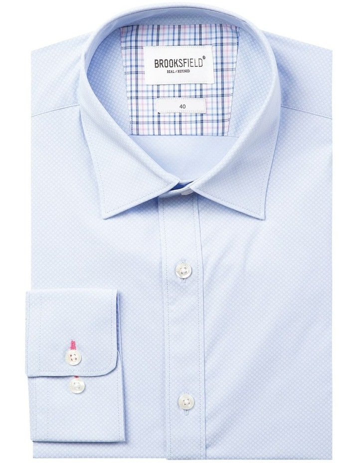 Career Micro Square Print Business Shirt image 4