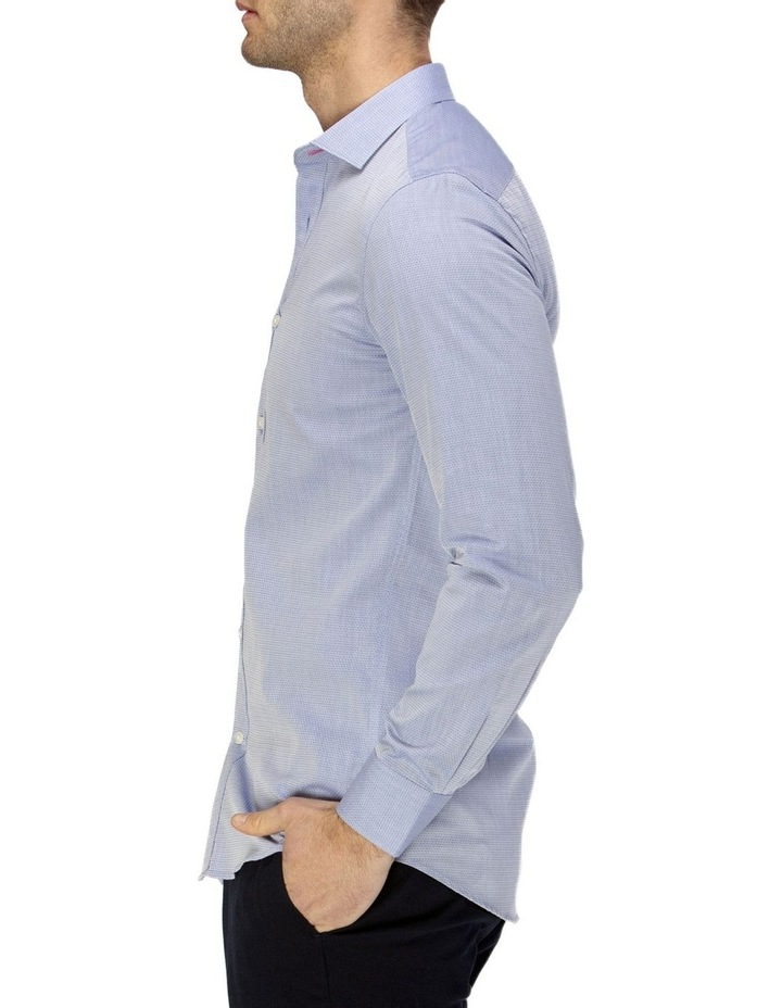 Career Abstract Diamond Weave Business Shirt image 2