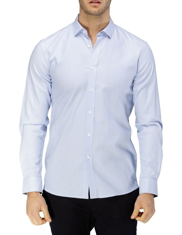 Micro Square Dobby Business Shirt image 1