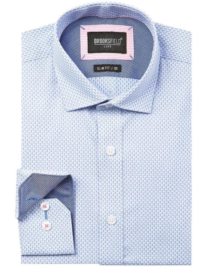 Micro Square Dobby Business Shirt image 4