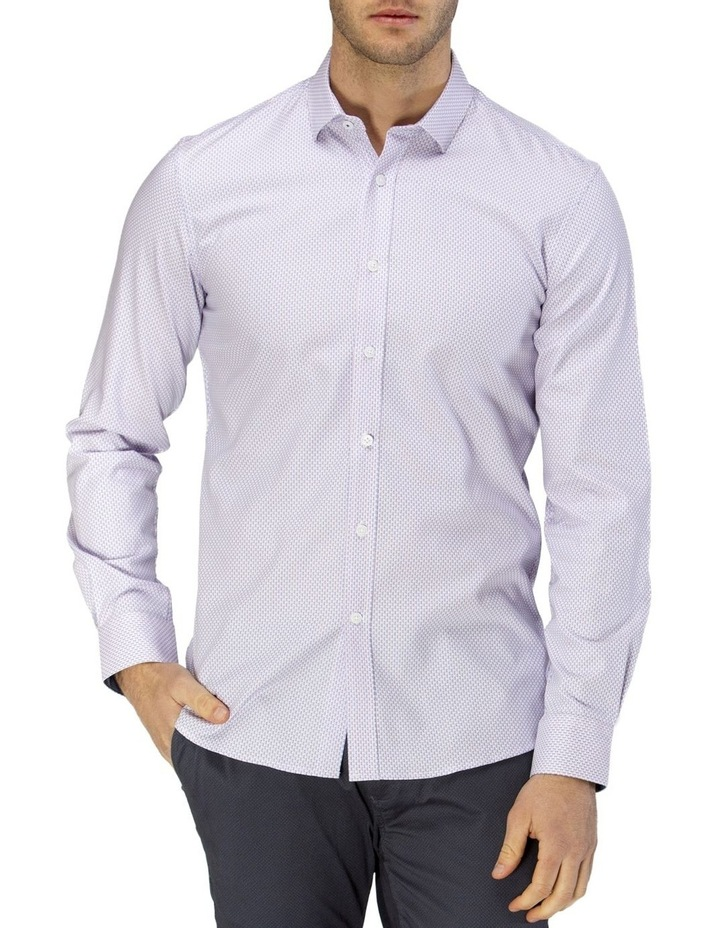 Micro Square Dobby Business Shirt image 1