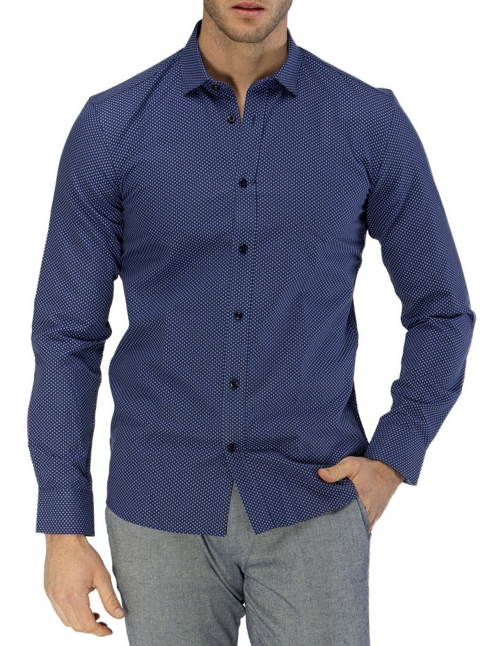 Luxe All-over Cross Dobby Business Shirt image 1