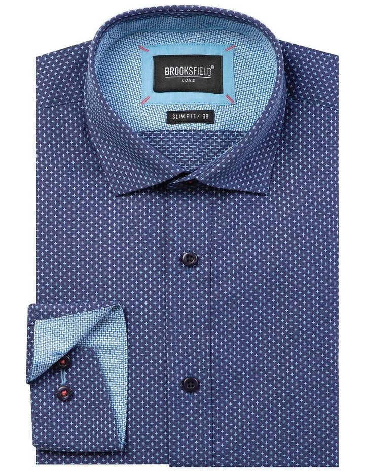 Luxe All-over Cross Dobby Business Shirt image 4
