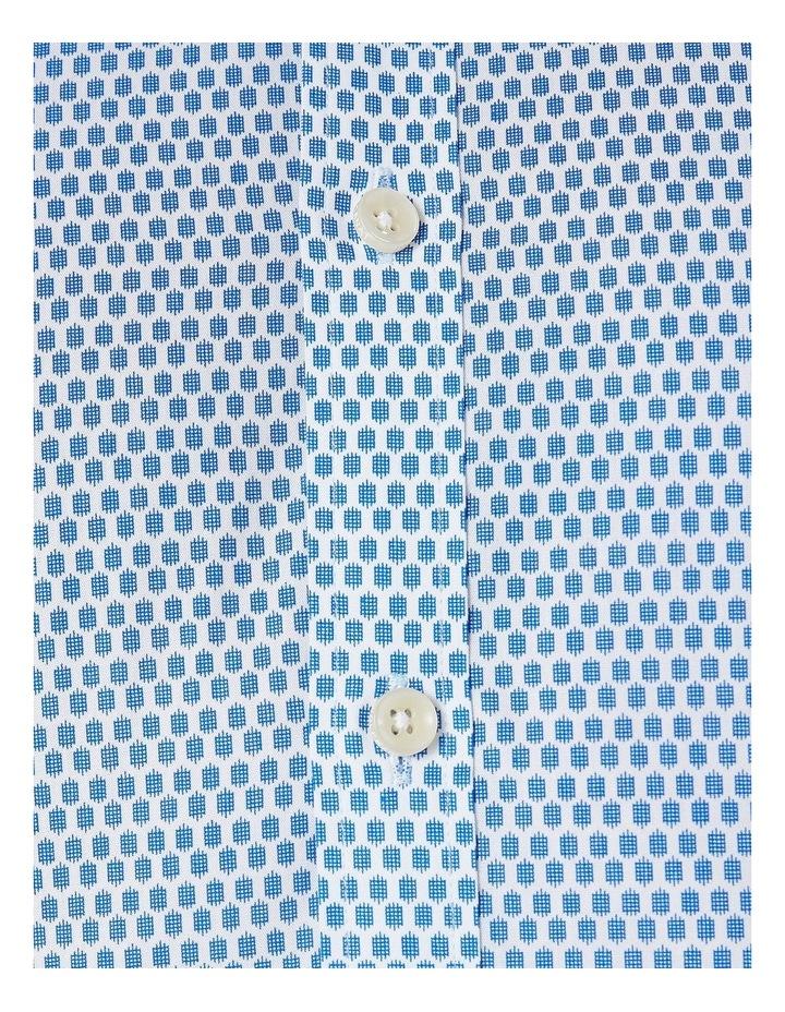 Romanov Blue Geo Print Shirt image 3