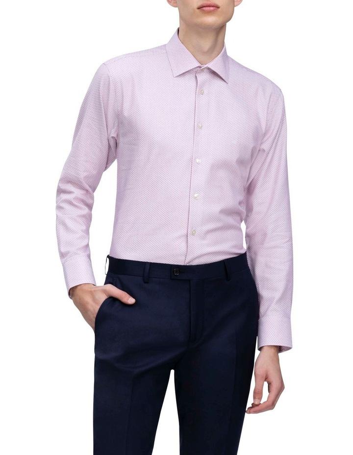 Rouge Dobby Print Business Shirt image 2
