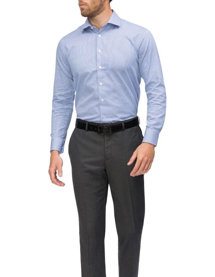 Navy Dobby Business Shirt image 2