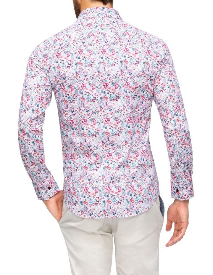 Floral Digital Print Business Shirt image 2