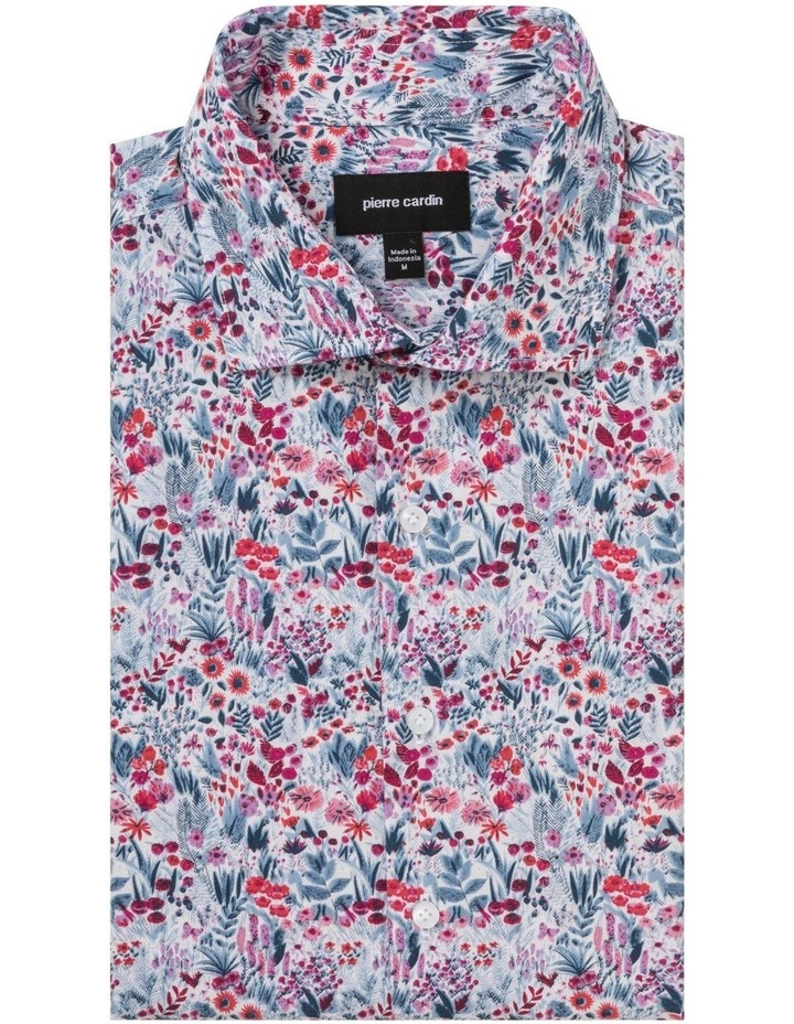 Floral Digital Print Business Shirt image 3