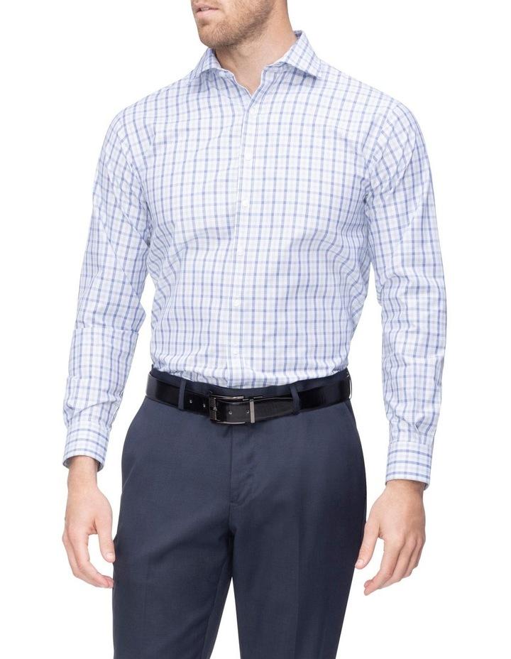 Commuter Check Business Shirt Indigo image 1