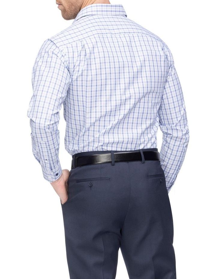 Commuter Check Business Shirt Indigo image 2