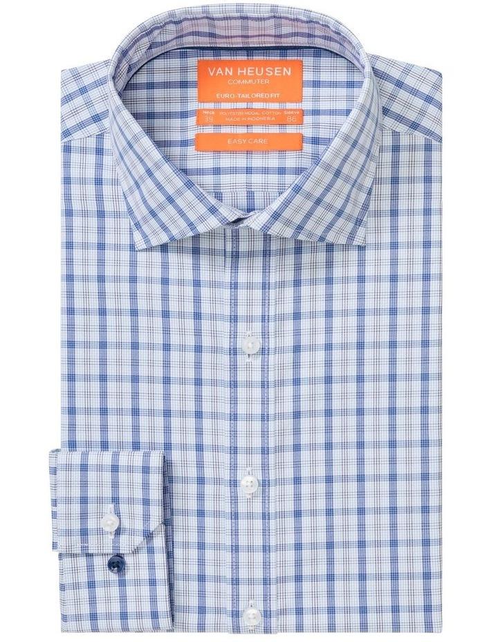 Commuter Check Business Shirt Indigo image 3