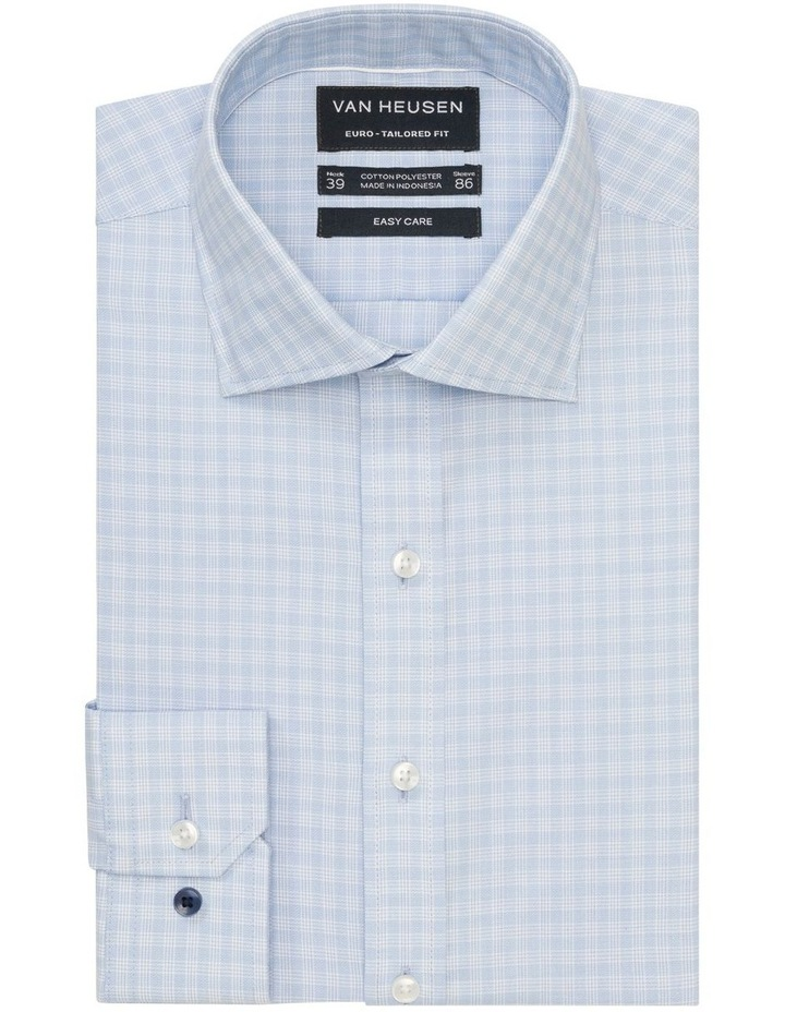 Check Business Shirt Blue image 1