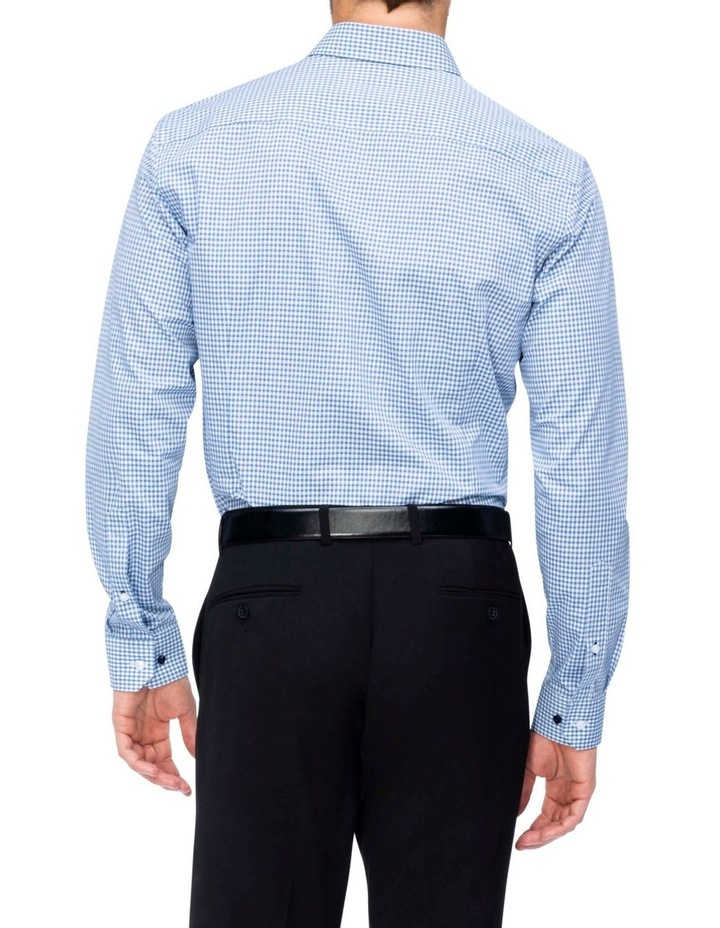 Check Business Shirt Blue image 2