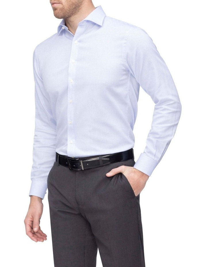 Commuter Dobby Business Shirt Blue image 2