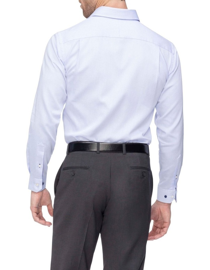 Commuter Dobby Business Shirt Blue image 3