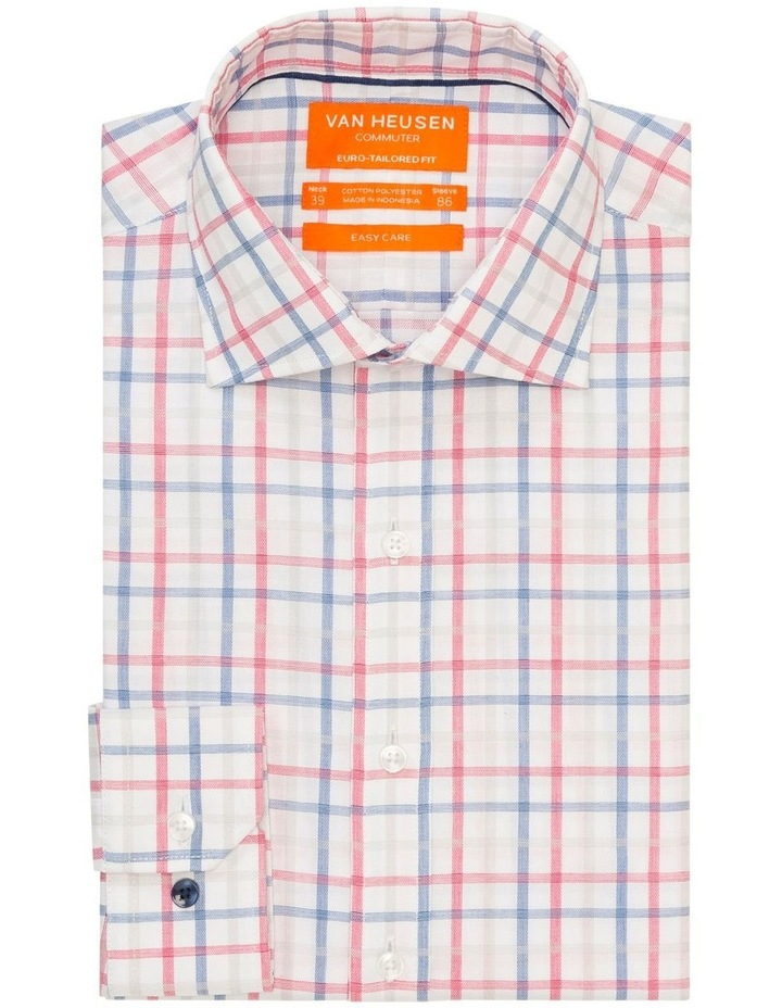 Commuter Check Business Shirt Red/Blue image 1