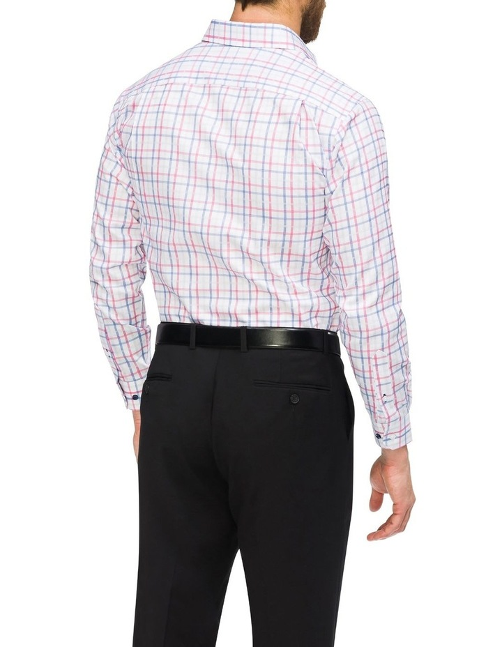 Commuter Check Business Shirt Red/Blue image 3