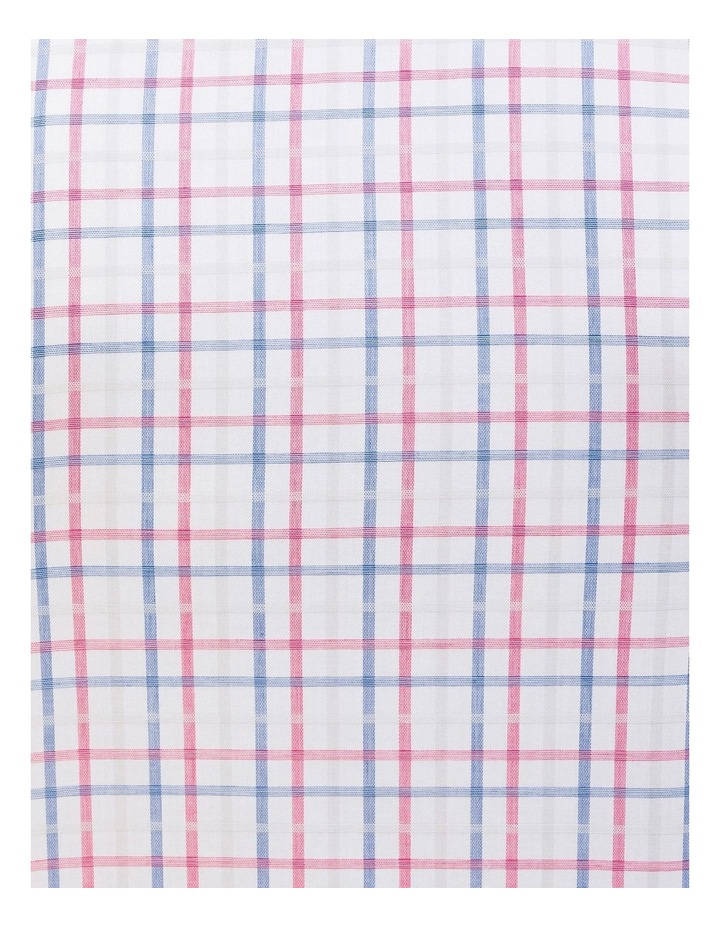 Commuter Check Business Shirt Red/Blue image 4