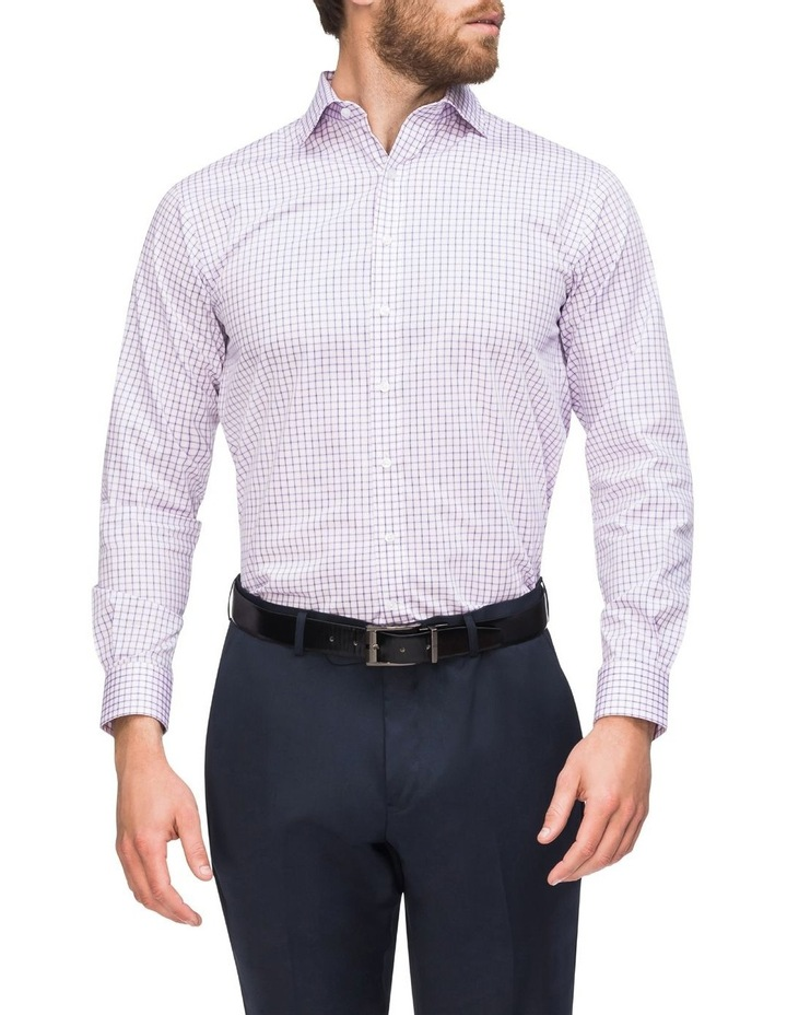 Check Business Shirt Pink/Navy image 2