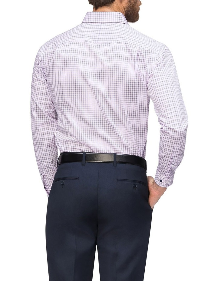 Check Business Shirt Pink/Navy image 3