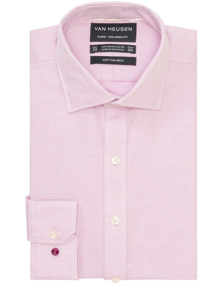 Self Dobby Business Shirt Lilac image 1