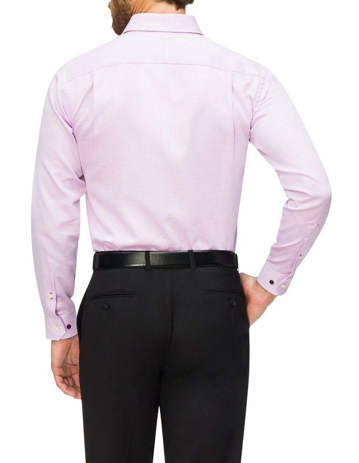 Self Dobby Business Shirt Lilac image 3