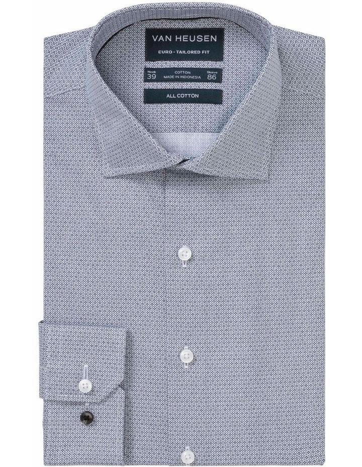 Print Business Shirt Black image 1