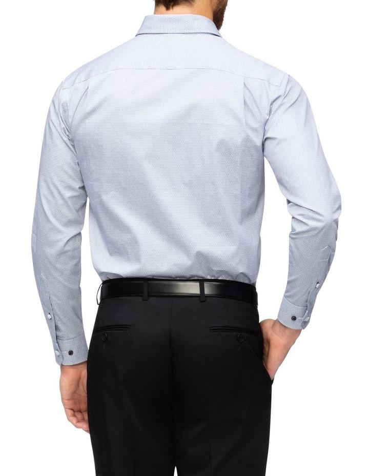 Print Business Shirt Black image 3