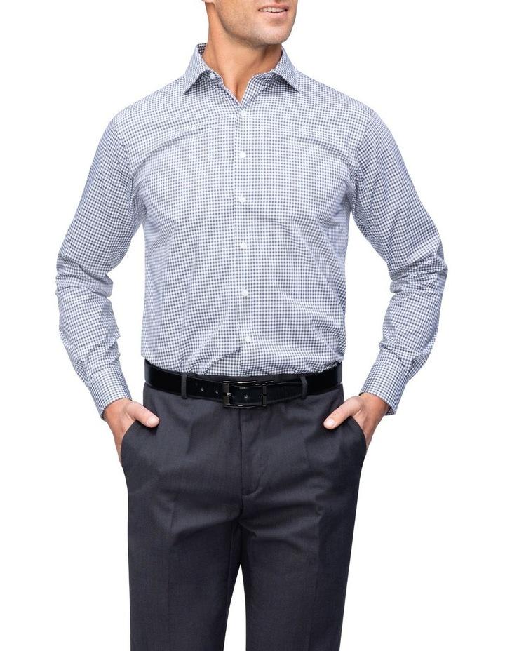 Commuter Check Business Shirt Navy image 2
