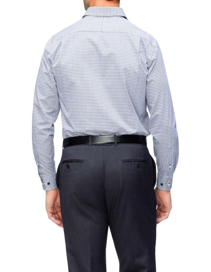 Commuter Check Business Shirt Navy image 3