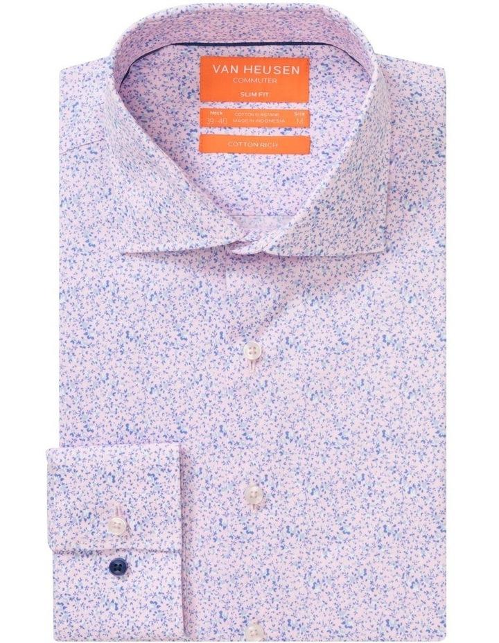 Pink & Blue Floral Commuter Business Shirt image 1