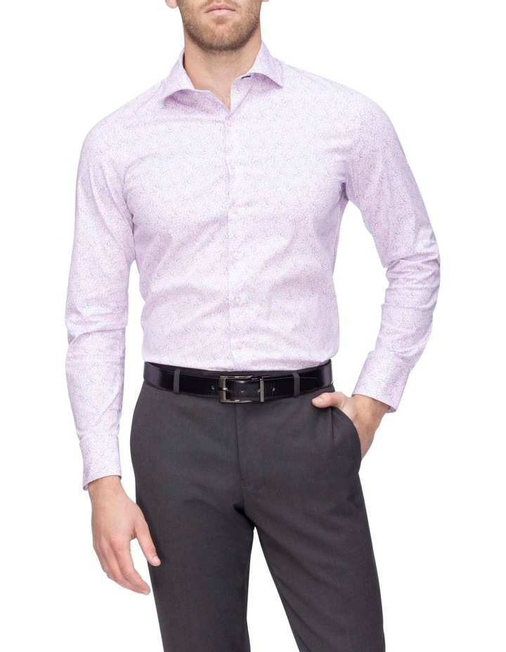 Pink & Blue Floral Commuter Business Shirt image 2