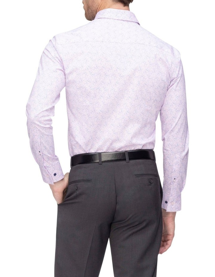 Pink & Blue Floral Commuter Business Shirt image 3