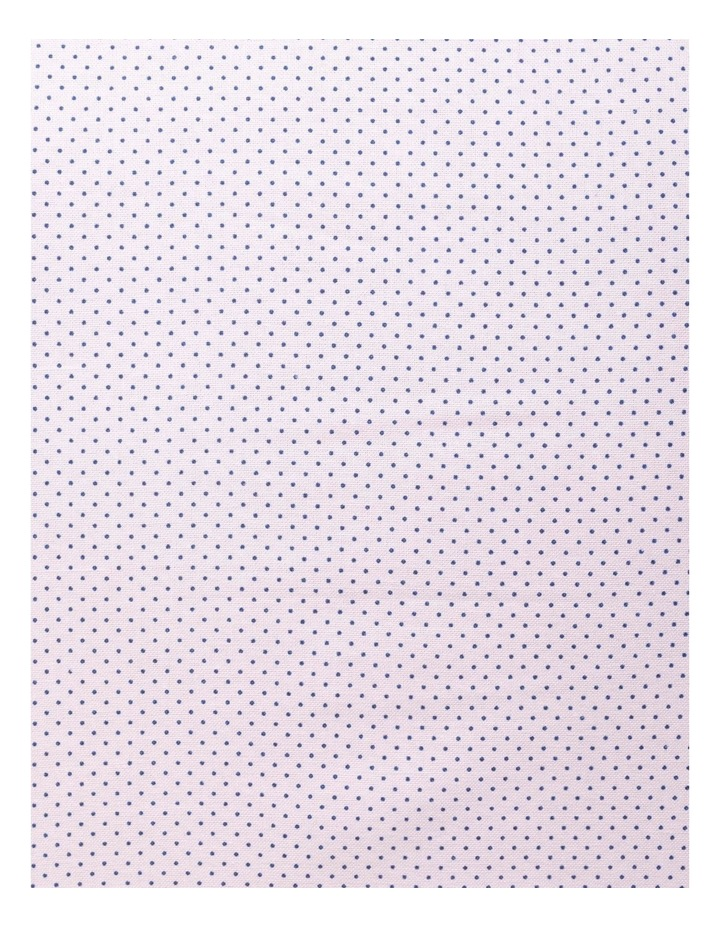 Pink with Navy Fine Dot Business Shirt image 4