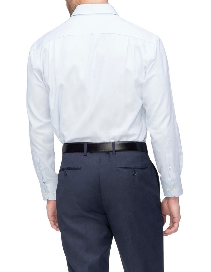 Self Herringbone Business Shirt image 2
