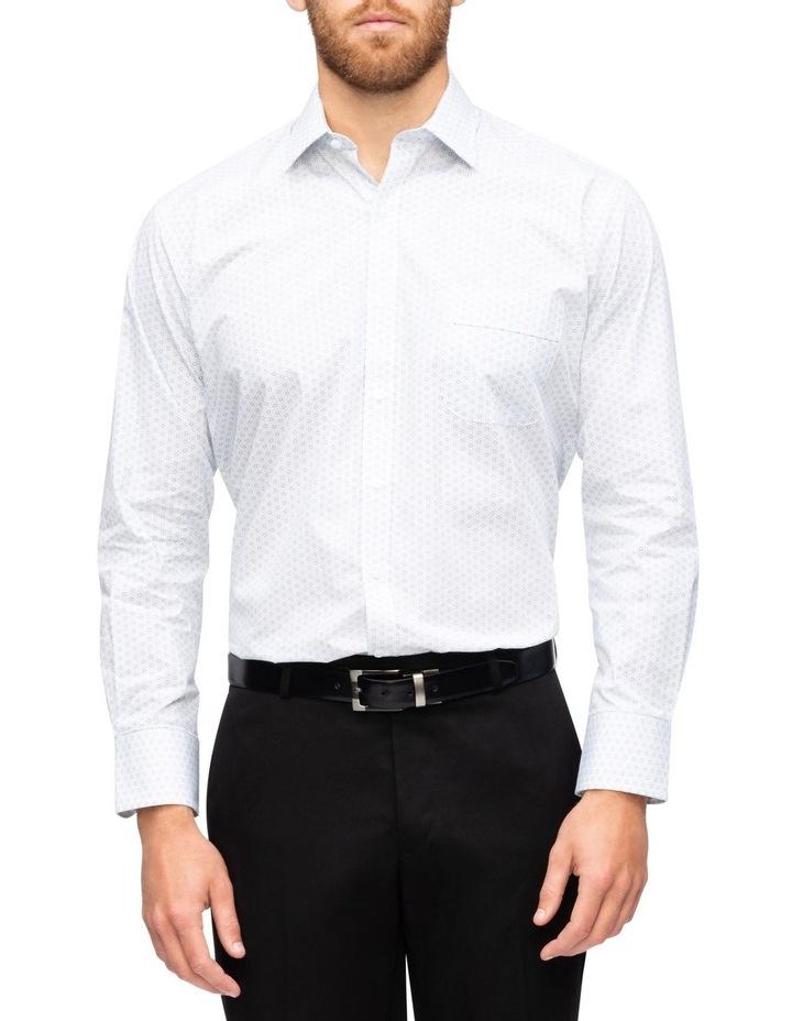 Circle Print Business Shirt image 1