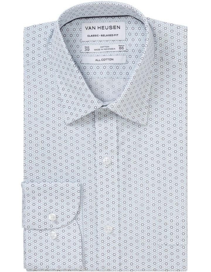 Circle Print Business Shirt image 3