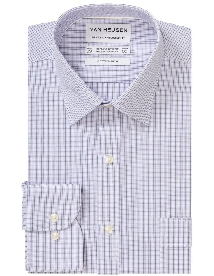 Small Check Business Shirt image 1