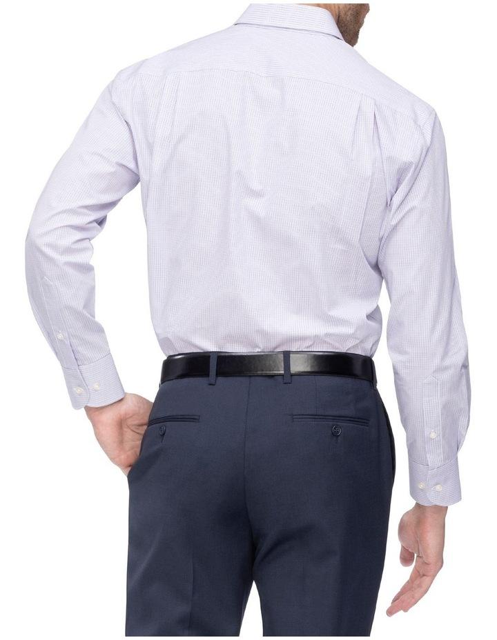 Small Check Business Shirt image 4